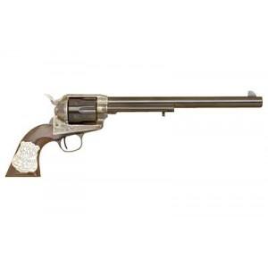 """Cimarron Wyatt Earp .45 Long Colt 6-Shot 10"""" Revolver in Color Case Hardened - PP558"""