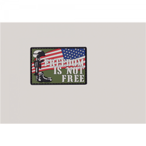 MORALE PATCH, FREEDOM IS NOT FREE