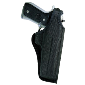 "Bianchi 17723 Sporting Thumbsnap Holster 7001 Fits Belts up to 1.75"" Black Accum - 17723"