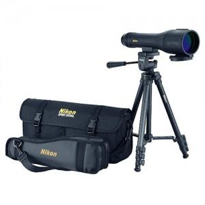 """Nikon  12.5"""" 16-48x60mm Spotting Scope in Black - 6892"""