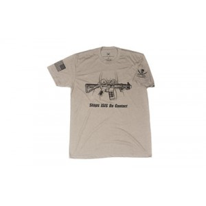 Spike's Tactical Stops ISIS Men's T-Shirt in Gray - 2X-Large