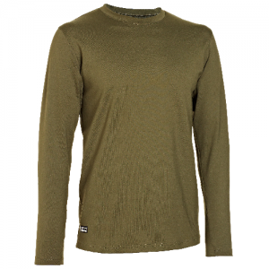 Under Armour Coldgear Infrared Men's Long Sleeve Compression Tee in Marine OD Green - Large