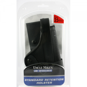Uncle Mike's Standard Retention Right-Hand Belt Holster for Glock 20 in Black - 98251