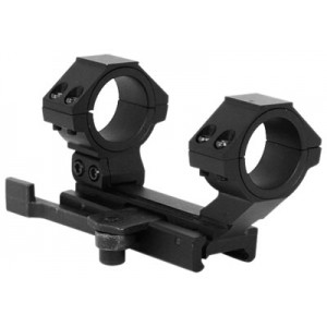 NcStar MARCQ Quick Release Mount For AR-15/M16 Quick Release Weaver Style Black