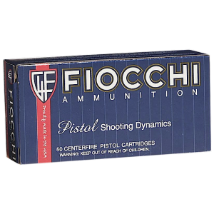 Fiocchi Ammunition .38 S&W Lead Round Nose, 145 Grain (50 Rounds) - 38SWSHL