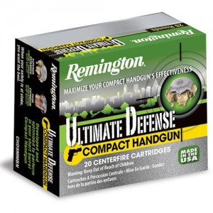 Remington Ultimate .380 ACP Brass Jacket Hollow Point, 102 Grain (20 Rounds) - HD380BN