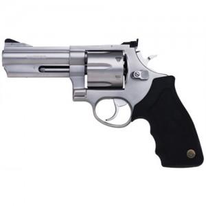 "Taurus 44 .44 Remington Magnum 6-Shot 4"" Revolver in Matte Stainless - 2440049"