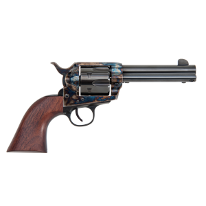 "Traditions 1873 .45 Long Colt 6-Shot 4.75"" Revolver in Case Hardened Blue (Frontier) - SAT73002"