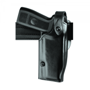 Mid-Ride Level II SLS Duty Holster Finish: STX Basket Weave Gun Fit: Ruger GP100 (4  bbl) Hand: Left - 6280-21-482