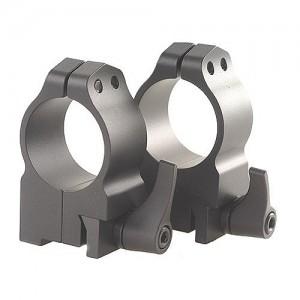 Warne 30MM Medium Quick Detach Matte Black Rings For Ruger Blackhawk/Redhawk 14RLM