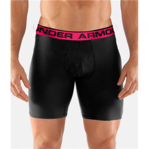 "Under Armour O-Series 6"" Men's Underwear in Black - 3X-Large"