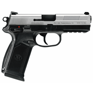 "FN Herstal FNX-45 .45 ACP 10+1 4"" Pistol in Stainless Steel (Manual Safety) - 66963"