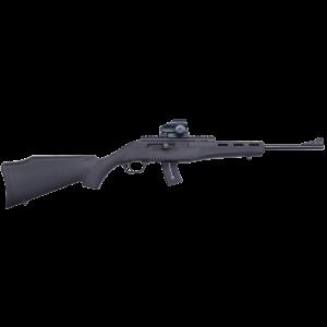 "Mossberg Blaze .22 Long Rifle 25-Round 16.5"" Semi-Automatic Rifle in Black - 37315"