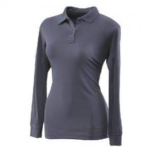 Tru Spec 24-7 Women's Long Sleeve Polo in Navy - Medium
