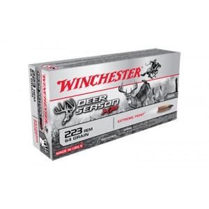 Winchester Deer Season .223 Remington Poly Tip, 64 Grain (20 Rounds) - X223DS