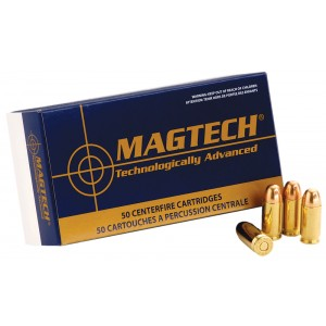 Magtech Ammunition Sport .45 ACP Full Metal Jacket, 230 Grain (50 Rounds) - 45A