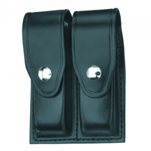Gould & Goodrich Double Magazine Pouch Magazine Pouch in Hi-Gloss - H627-4CLBR