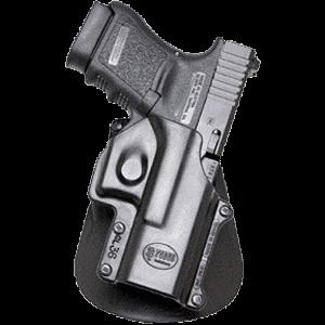 Fobus GL36RP Roto Paddle Holster GL36RP N/A Black Plastic - GL36RP