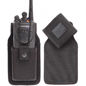 NYLAHIDE SWIVEL RADIO HOLDER  Color: B Fit: A MOTOROLA XTS3000 SNAP CLOSURE W/ ELASTIC CORD