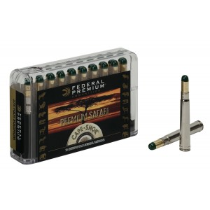 Federal Cartridge Cape-Shok Dangerous Game .375 H&H Magnum Woodleigh Hydro Solid, 300 Grain (20 Rounds) - P375WH