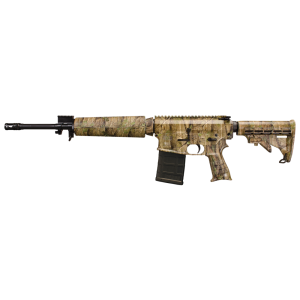 """Windham Weaponry 15 SRC .308 Winchester/7.62 NATO 20-Round 16.5"""" Semi-Automatic Rifle in TimberTec Black Camouflage - R16FTT308C3"""