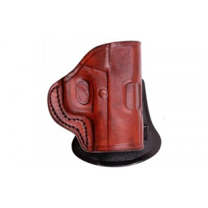 Tagua Pd2 Paddle Holster, Fits S&w M&p Shield, Right Hand, Brown Pd2-1012 - PD2-1012