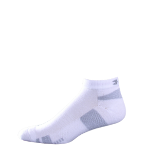 UA HeatGear Trainer LO CUT 3 Pack Color: White Size: Large