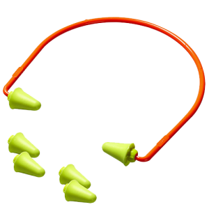 3M Peltor 97065 Banded Ear Plugs Earplugs 28 dB Foam Washable