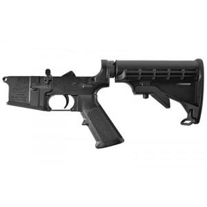 Bushmaster Ar Lower Receiver, Multicaliber, Black Finish, Telestock 92952
