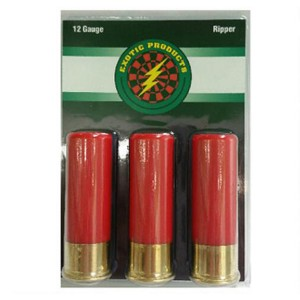 """Exotic Products Ripper Steel Tacks .12 Gauge (2.75"""") Tracks w/ #12 Shot Steel (3-Rounds) - 2"""