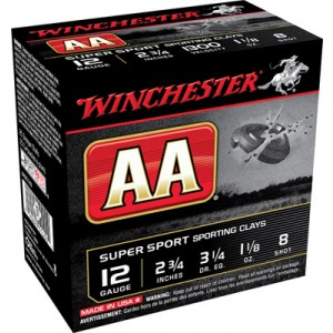 """Winchester AA .12 Gauge (2.75"""") 9 Shot Lead (250-Rounds) - AASC129"""