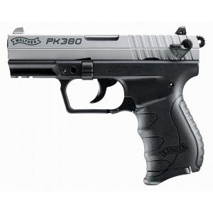 "Walther PK380 .380 ACP 8+1 3.66"" Pistol in Two Tone Tenifer Black - 5050309"