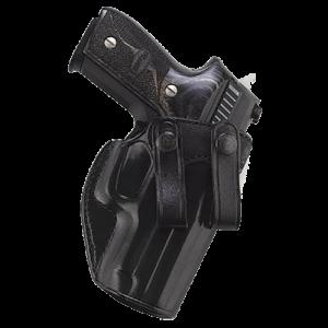 "Galco International Summer Comfort Right-Hand IWB Holster for Glock 26, 27, 33 in Black (1.75"") - SUM286B"