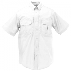 5.11 Tactical Pro Men's Uniform Shirt in White - 2X-Large