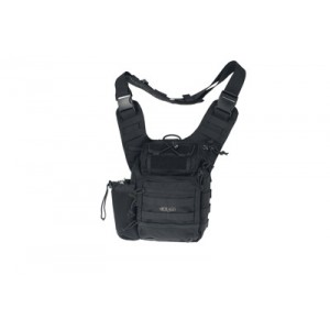 Drago Gear Ambidextrous Sling Backpack in Black 1000D Nylon - 15303BL