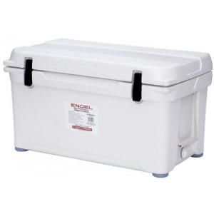 Engel USA DeepBlue Cooler 80 Quart Storage Cooler 8-10 Day Cooling Time Tan ENG80
