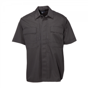 5.11 Tactical TDU Men's Uniform Shirt in Black - Large