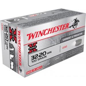 Winchester Super-X .32-20 Winchester Lead, 100 Grain (50 Rounds) - X32201