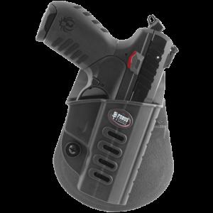 Fobus USA Evolution Right-Hand Paddle Holster for Ruger SR22 in Black - SR22