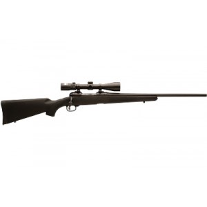 "Savage Arms 11/111 .22-250 Remington Trophy Hunter XP 4-Round 22"" Bolt Action Rifle in Black - 19678"