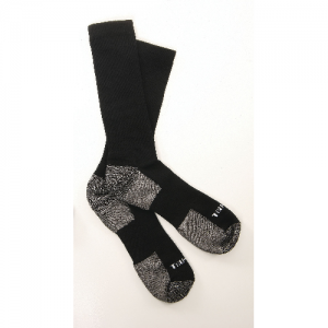 SOCKS, BLK TACTICAL PERFORMANCE 9 , XL