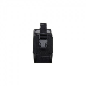 4' Clip-On Phone Holster Color: Black