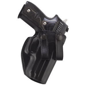"""Galco International Summer Comfort Right-Hand IWB Holster for Smith & Wesson M&P Compact in Black (3.38"""") - SUM474B"""