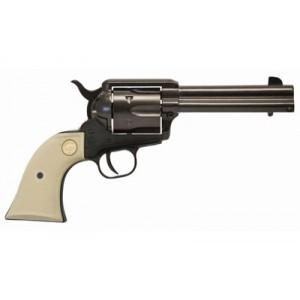 "Chiappa 1873 .22 Long Rifle 6-Shot 4.75"" Revolver in Black - 1873-22BLK/IV"