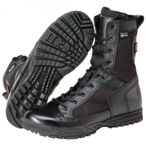 Skyweight Waterproof Side Zip Boot Color: Black Size: 12 Width: Regular