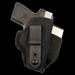 Desantis Gunhide Tuck This II Ambidextrous-Hand Belt Holster for Kahr Arms K9, K40, 9P, P40, P45, Cw9, Cw40 in Black - M24BJD6Z0