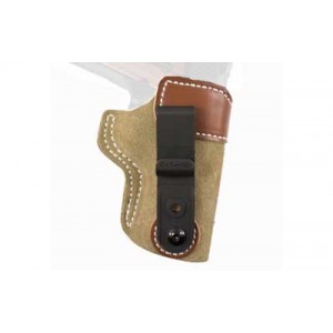 "Desantis Gunhide 106 Sof-Tuk Left-Hand IWB Holster for 1911 Officer's, Defender in Tan Suede Leather (3.5"") - 106NB79Z0"