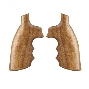 Hogue Goncalo Alves Wood Grips For Smith & Wesson K/L Frame Square Butt 10200