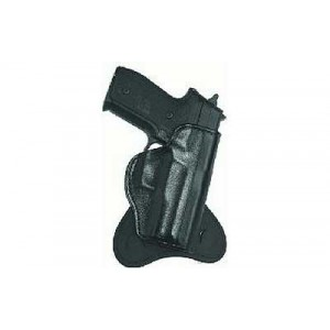 Don Hume H721ot Paddle Holster, Fits Glock 19/23/32/36, Right Hand, Black Leather J252160r - J252160R