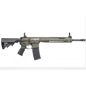 "LWRC IC .223 Remington/5.56 NATO 30-Round 16.1"" Semi-Automatic Rifle in OD Green - ICER5ODG16"